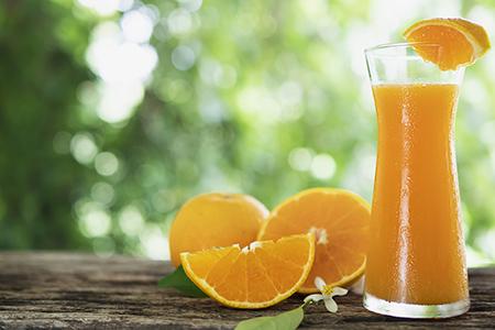 Vitamina C: Zumo de naranja