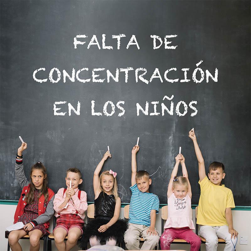 Falta de concentración en los niños