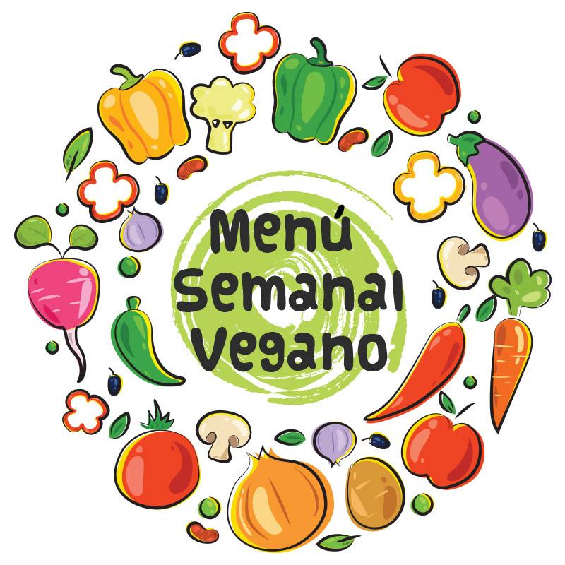 Menú Semanal Vegano