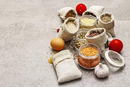 Los huevos y las legumbres son un buen alimento para los diabéticos