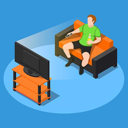 El sedentarismo es una de las causas de la obesidad