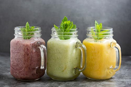 Receta de un smoothie verde