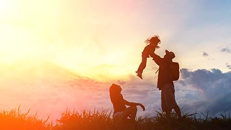 Amar a tus seres queridos, es un ejemplo de Ikigai que podemos encontar en Occidente