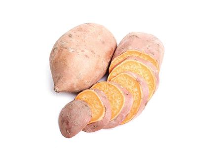 Moniato para hacer snacks saludables