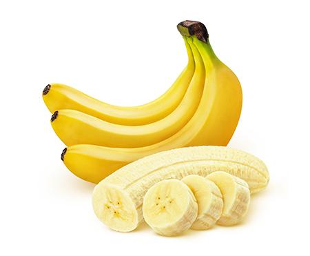 Plátano para hacer galletas de plátano. Un snack saludable perfecto