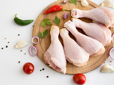 Plato de pollo