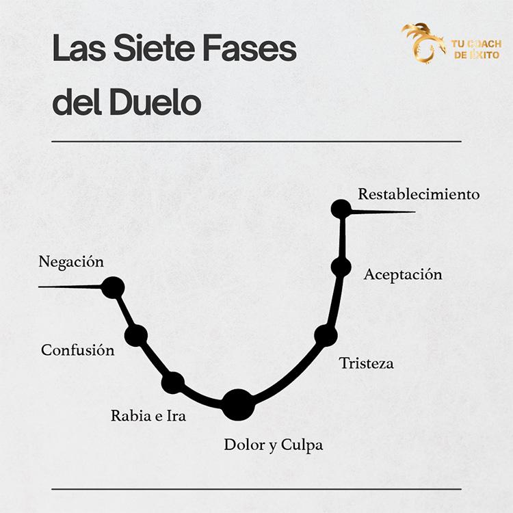 siete fases del duelo