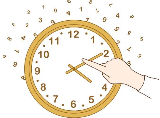 concepto reajustar el tiempo para dejar de ser perfeccionista