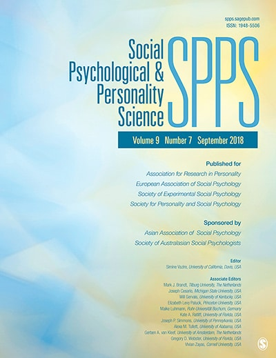 Social Psychology and Personality Science