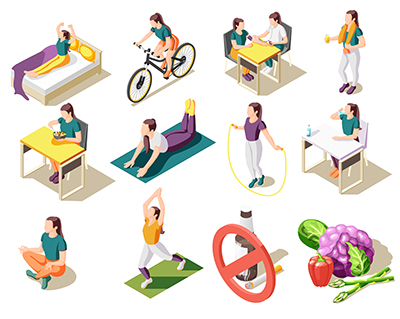 conjunto de habitos saludables que ayudarán a mejorar tu atención